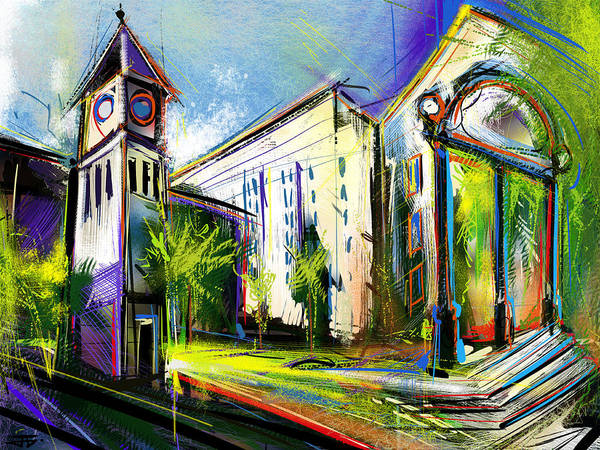 Painting - Local Landmarks by John Jr Gholson