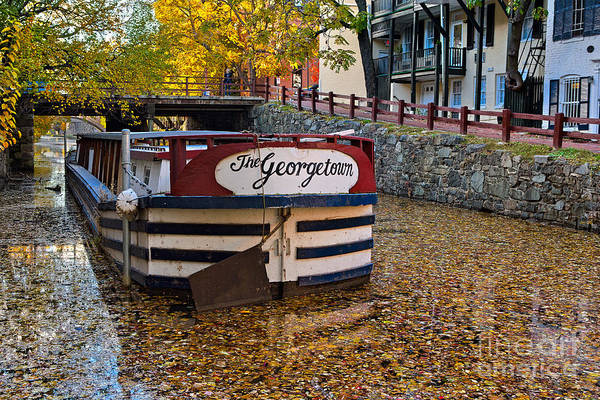 Chesapeake And Ohio Wall Art - Photograph - Georgetown Barge by Jerry Fornarotto