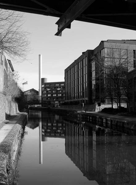 Photograph - Georgetown - Canal Reflections 2 by Richard Reeve