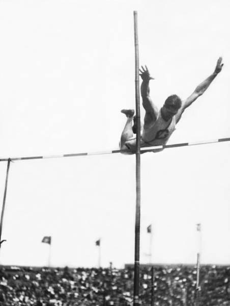 Franklin Park Photograph - Georgetown Decathlon Star by Underwood Archives