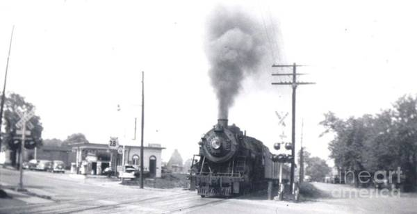 Photograph - Georgetown Rd Crossing by David Neace