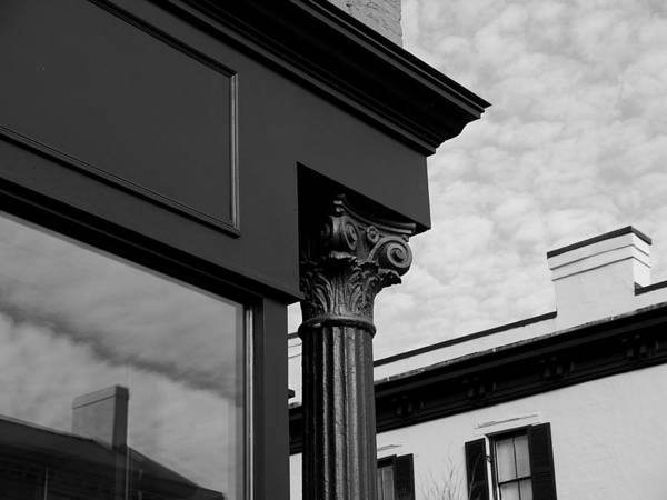 Photograph - Georgetown - Street Architecture by Richard Reeve