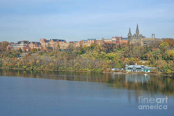 Neighborhood Photograph - Georgetown University Neighborhood by Olivier Le Queinec