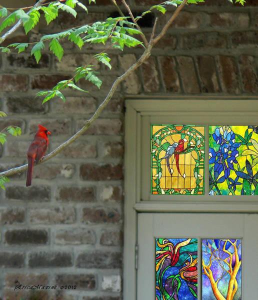 Photograph - Georgia Cardinal by Ericamaxine Price