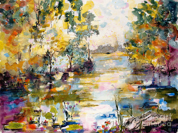 Painting - Georgia Okefenokee Morning by Ginette Callaway