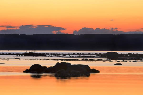 Georgian Bay Sunset-1 Art Print