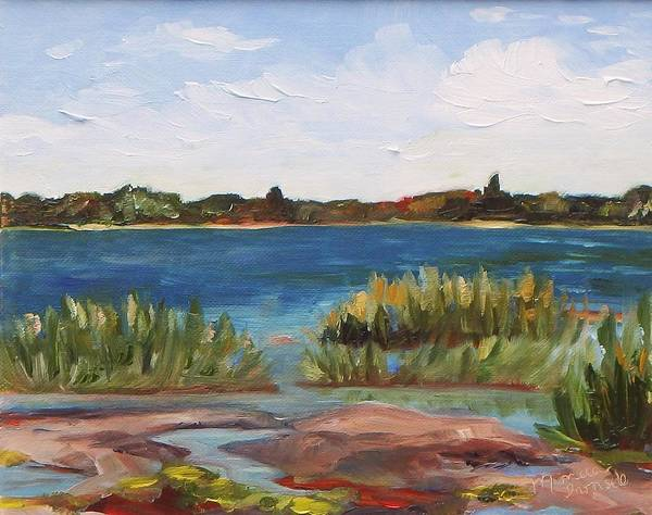 Painting - Georgian Shores by Monica Ironside