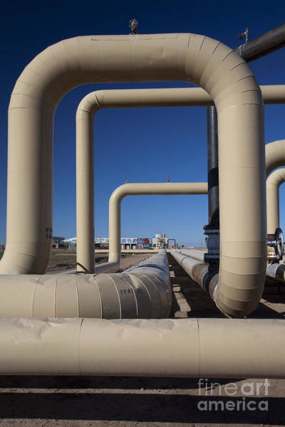 Photograph - Geothermal Energy by Jim West
