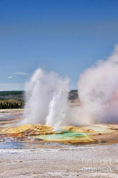 Photograph - Geothermal Geyser by Brenda Kean