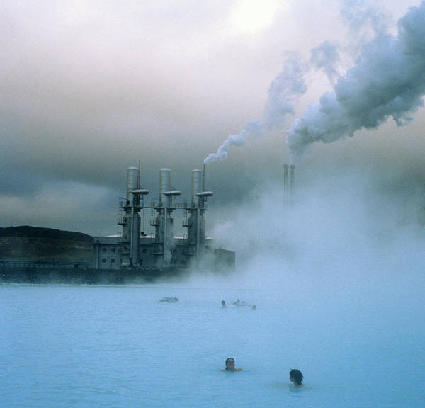 Wall Art - Photograph - Geothermal Power Station by Simon Fraser/science Photo Library