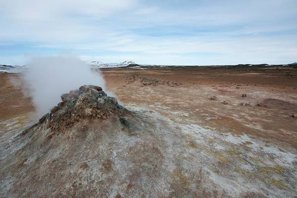 Vent Photograph - Geothermal Vent by Dr P. Marazzi