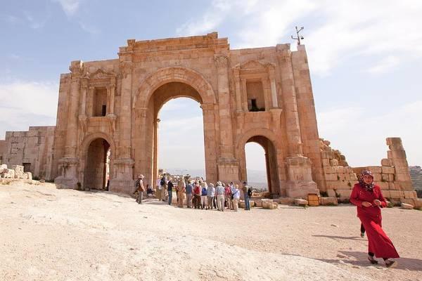 Jerash Photograph - Gerasa by Photostock-israel