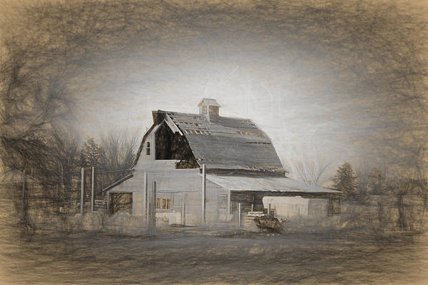 Photograph - Gering Barn by HW Kateley