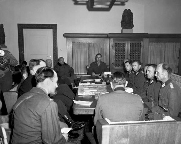 Ww Ii Photograph - German Army Group G Surrender by Underwood Archives