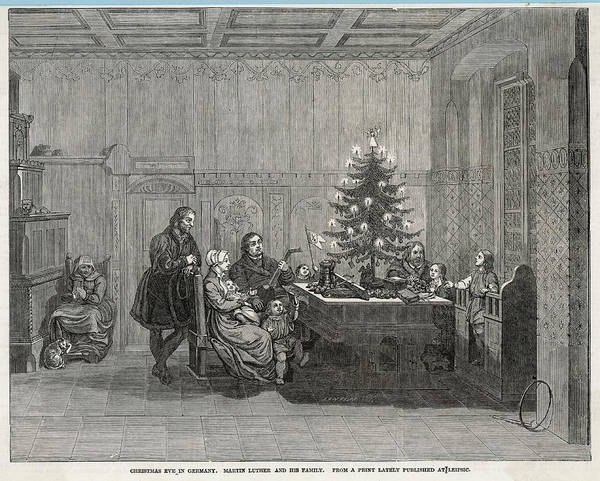 Wall Art - Drawing - German Religious Reformer  Martin by Mary Evans Picture Library