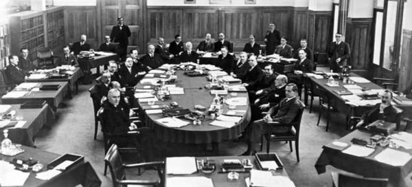 Appearance Photograph - German Reparations Committee by Underwood Archives
