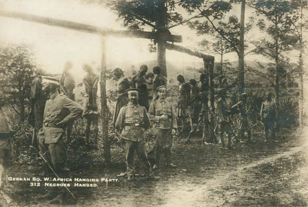 1896 Photograph - German Sw Africa Executions by Underwood Archives