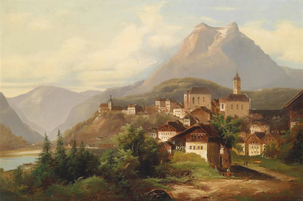 Artistry Painting - German Village by Mountain Dreams