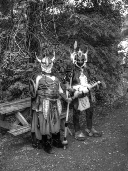 Conan Photograph - Germanics Barbarian Knights V3 by John Straton
