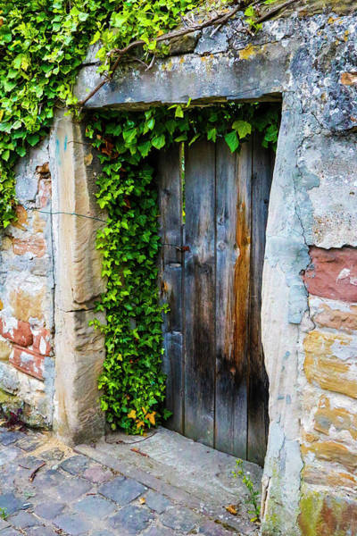 Wall Art - Photograph - Germany, Freinsheim, Old Doorway by Hollice Looney