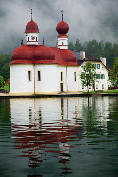 Onion Domes Photograph - Germany, Lake Konigssee by Jaynes Gallery