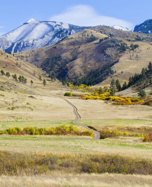 Photograph - Get Lost In Montana by Fran Riley