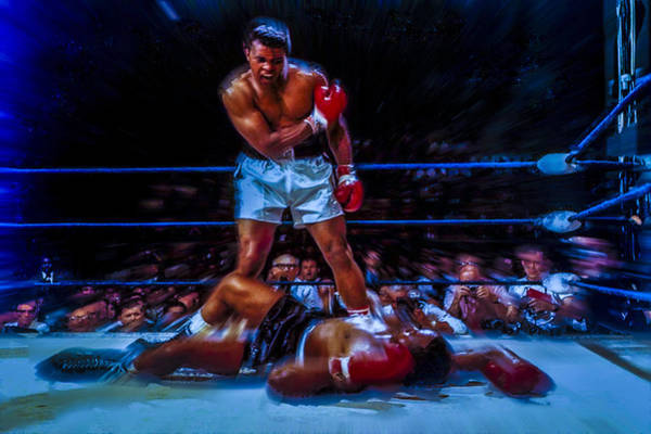 Wall Art - Digital Art - Get Up And Fight Sucker by Brian Reaves