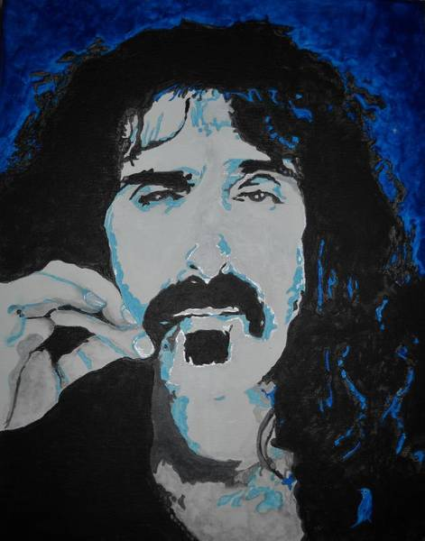 Frank Zappa Painting - Get Zapped by Leah Delano