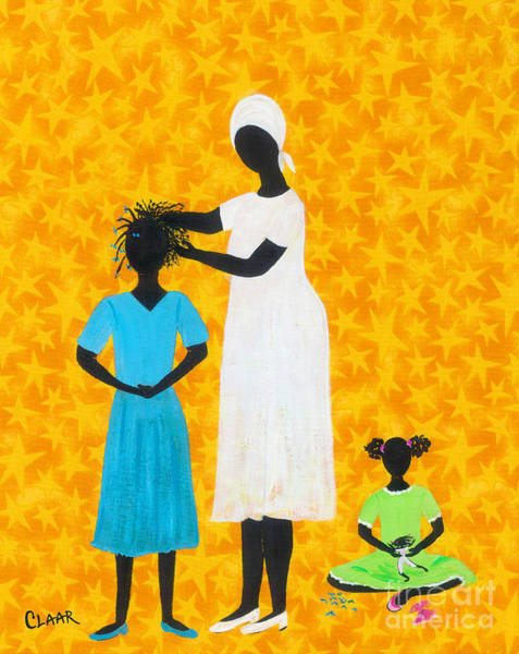 Gullah People Wall Art - Painting - Gettin Ready by Samantha Claar