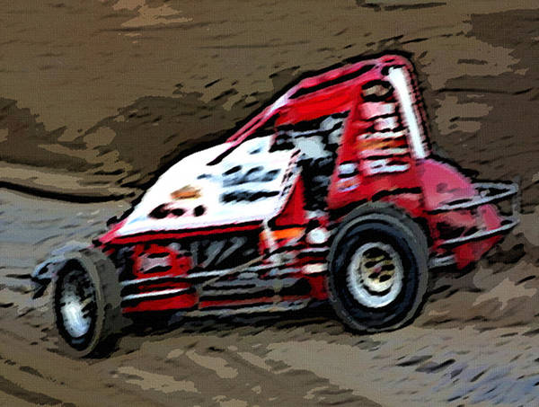 Gettin' With It In The Dirt Art Print