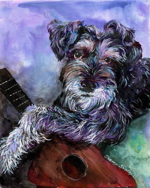 Painting - Getting His Groove On by Sherry Shipley