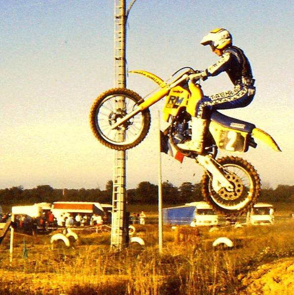 Dirtbike Photograph - Getting Some Air by Guy Pettingell