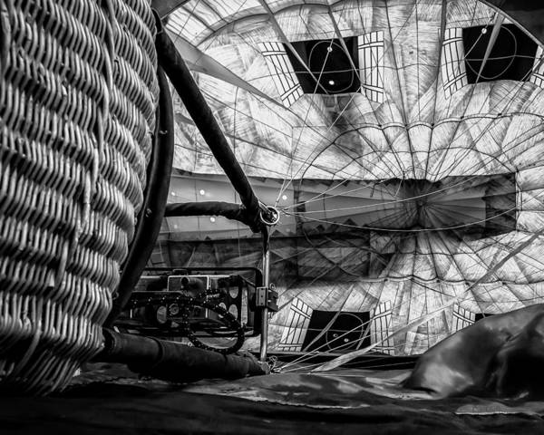 Photograph - Getting The Balloon Ready by Bob Orsillo