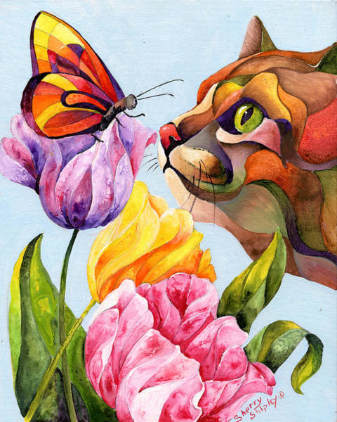 Painting - Getting To Know You by Sherry Shipley
