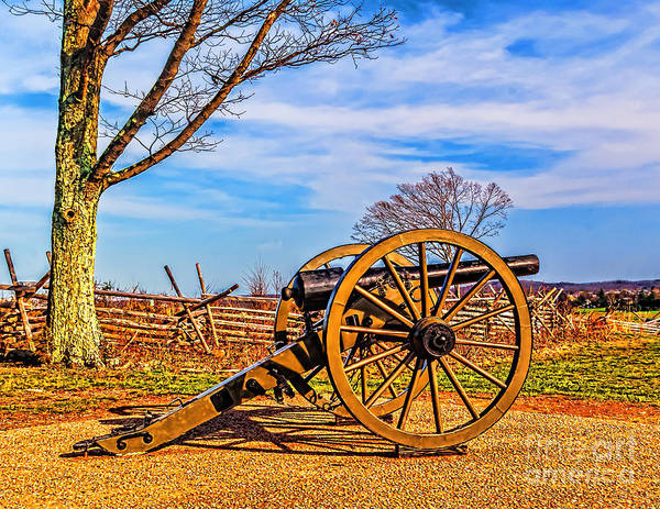 Photograph - Gettysburg Cannon by Nick Zelinsky