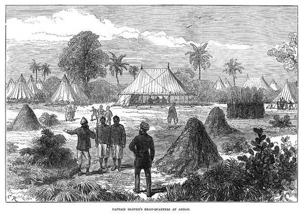 Ghana Painting - Ghana Addah, 1874 by Granger