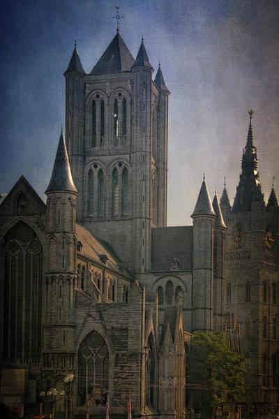 Photograph - Ghent Skyline by Joan Carroll