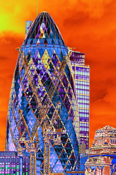 Photograph - Gherkin by Richard Henne