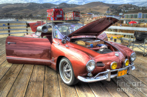 Photograph - Ghia On Vacation by Mathias