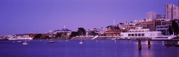 San Francisco Harbor Photograph - Ghirardelli Square, San Francisco by Panoramic Images