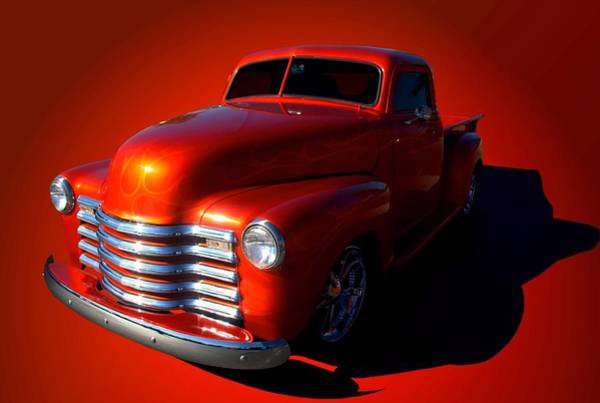 Photograph - 1950 Chevrolet Pickup Truck by Tim McCullough