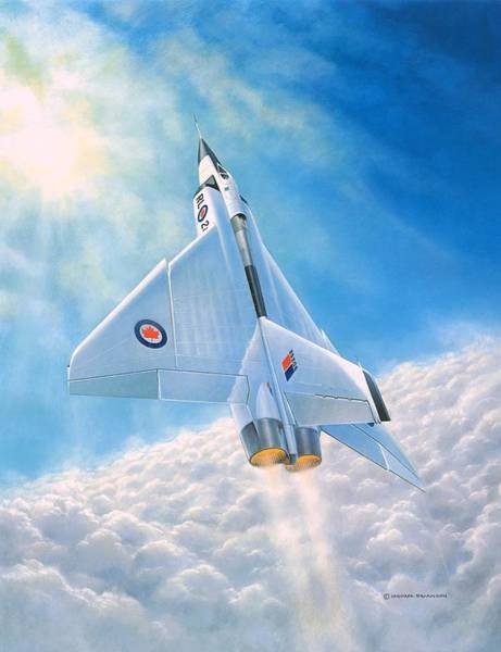 Avro Wall Art - Painting - Ghost Flight Rl206 by Michael Swanson