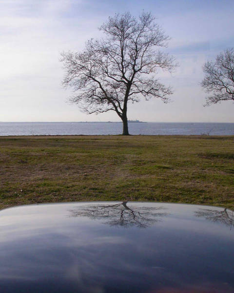 Photograph - Ghost House In The Sky At Sandy Hook by Gary Slawsky