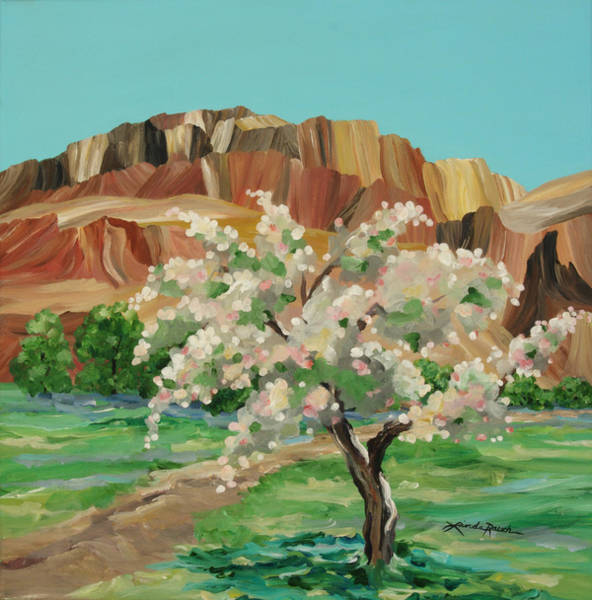 Painting - Ghost Ranch by Linda Rauch