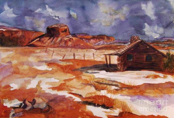 Enchantment Painting - Ghost Ranch Nm Winter  by Ellen Levinson