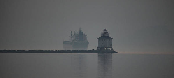 Wake Up Photograph - Ghost Ship by Chris Artist