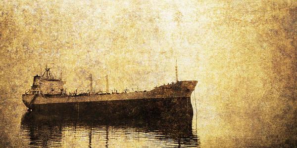 Wall Art - Photograph - Cargo Ship by Skip Nall