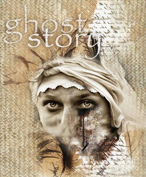 Mixed Media - Ghost Story  by Daliana Pacuraru