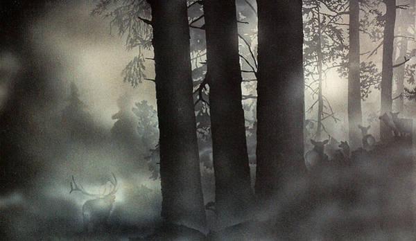 Painting - Ghost by Tim  Joyner