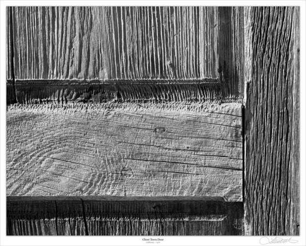 Bodie Ghost Town Wall Art - Photograph - Ghost Town Door by Lar Matre